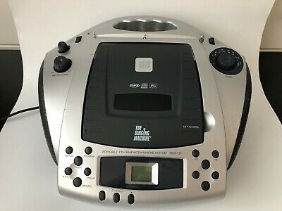 MTV The Singing Machine SMG-151 Portable CD MP3 Player Graphics Karaoke System