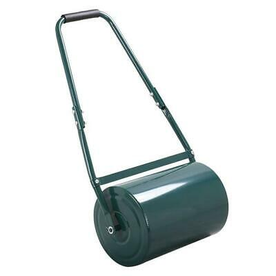 New 30L 38L GARDEN LAWN METAL WATER SAND FILLED MANUAL GRASS ROLLER AERATOR