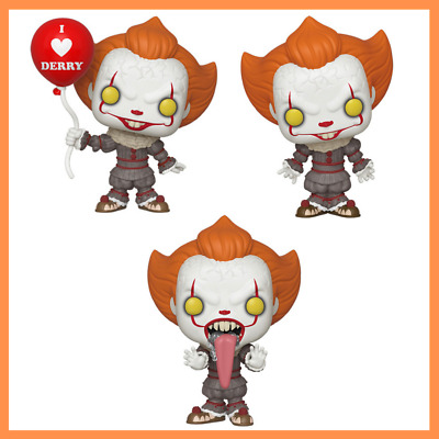 Funko POP! Movies: IT Chapter 2 - Pennywise Set of 3 [Pre Order Fall 2019]