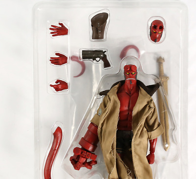 New Hot Toys anime Hellboy  Anung Figure Movie Un Rama 1/12 Scale PVC iN box