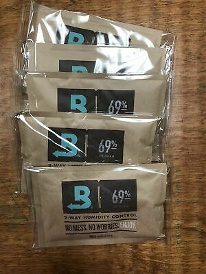 Boveda 69% 60 Gram 2 Way Humidification 5 Pack-FREE SHIPPING