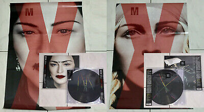 Madonna 2019 Madame X Taiwan OBI Vinyl 2 LP + Picture Disc 2 LP + Poster Sealed