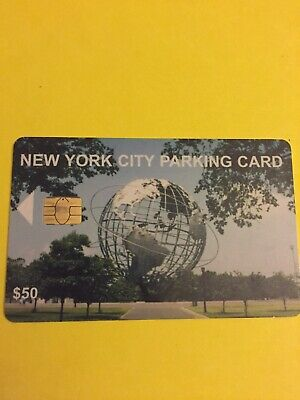 Collectible New York City Parking Card Ny World's Fair