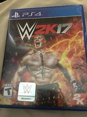 WWE 2K17 (Sony PlayStation 4, 2016) PS4 Used, Great Condition.