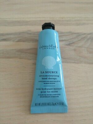 CRABTREE  & EVELYN La Source HAND THERAPY 25g Good Handbag Size NEW FRESH