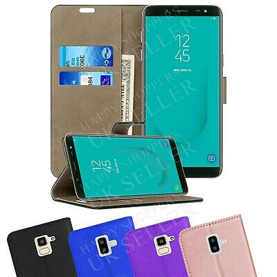 Case For Samsung Galaxy J6 Plus, J6 2018 Phone Leather Flip Card Wallet Cover