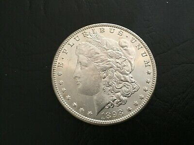 Bu++++++ 1898 O Morgan Silver Dollar Estate Sale Beauty