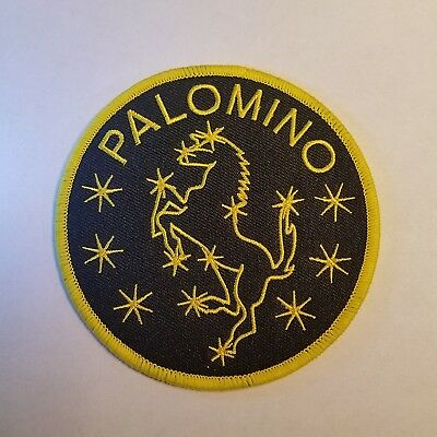 The Black Hole Palomino Costume Uniform Patch 4 inches wide