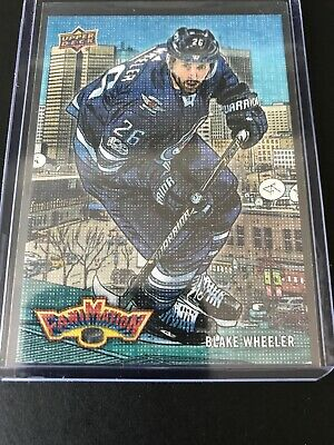 2018-19 Upper Deck Series 2 BLAKE WHEELER FANIMATION #F-24 RARE CANVAS SSP