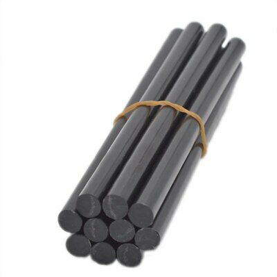 10Pcs Black Hot Melt Glue Sticks For Gun Auto Repair Tools Car Dent Paintless