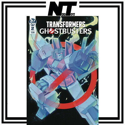 Idw Transformers Ghostbusters Ghosts Of Cybertron #2 Cover  B Tramontano