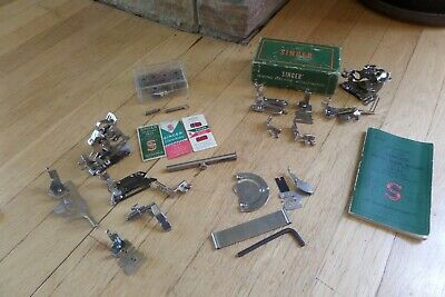 Vintage Singer Sewing Machine Attachments Lot