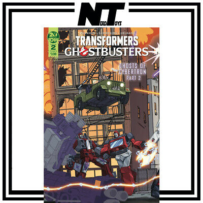 Idw Transformers Ghostbusters Ghosts Of Cybertron #2 Cover  A Schoening