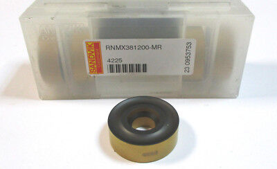 5 Indexable Inserts Rnmx 381200 Mr 4225 from Sandvik New L20027