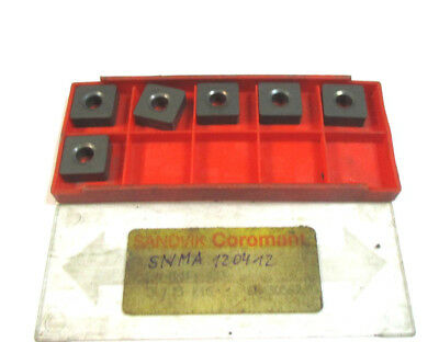 6 Indexable Inserts Snma 120412 315 K15 from Sandvik New H18675