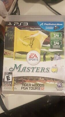 Tiger Woods PGA Tour 12: The Masters for Sony PlayStation 3
