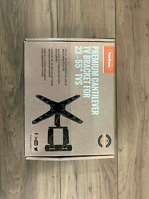 VonHaus 05/060 23 - 56inch Double Arm Tilt and Swivel TV Wall Mount Bracket -...