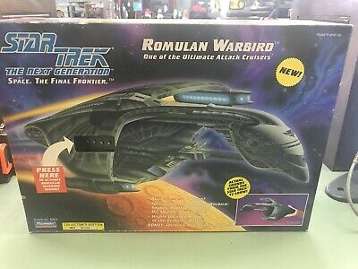 Playmates Star Trek The Next Generation Romulan Warbird New in Sealed Box 1993