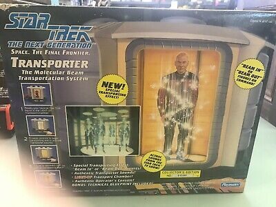 Vintage 1993 Star Trek The Next Generation Transporter New Sealed Playmates