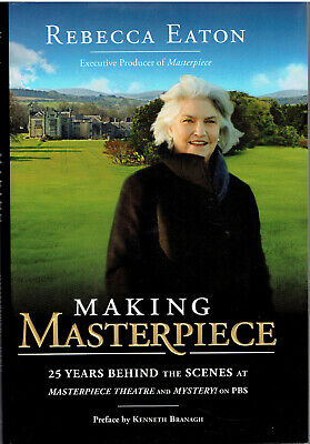 Making Masterpiece & Mystery 25 Years Behind the Scenes HCDJ SIGNED FIRST ED