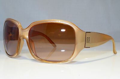 d8d34cad6fa6 GIVENCHY Womens Oversized Designer Sunglasses Brown Butterfly SGV 696 07PF  20869