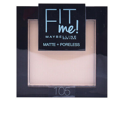 Maquillaje Maybelline mujer FIT ME MATTE+PORELESS powder #105-natural