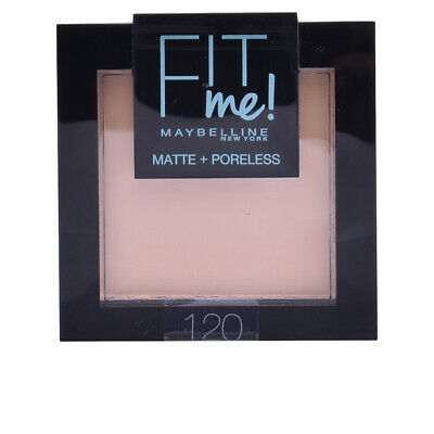 Maquillaje Maybelline mujer FIT ME MATTE+PORELESS powder #120-classic ivory
