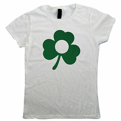 Clover, St Patricks Day Womens T Shirt - Gift Her