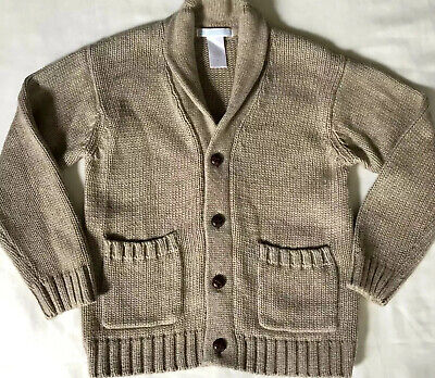 JANIE and JACK Button Up Sweater Boys 3t