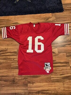 more photos 0c4cf 9c63e NEW JOE MONTANA San Francisco 49ers Mitchell&Ness NFL $150 ...
