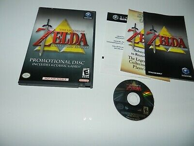 Legend of Zelda Collector's Edition Nintendo Gamecube Game Complete CIB Tested