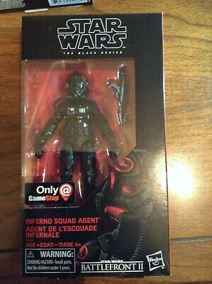 Star Wars The Black Series Inferno Squad Agent Gamestop Exclusive NIB