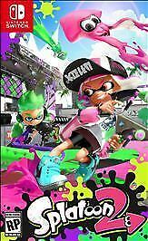 Splatoon 2 - Video Game For Nintendo Switch Game/ Case