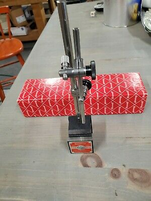 STARRETT 657 Magnetic Base Indicator Holder, excellent condition
