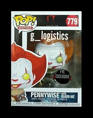 Funko Pop It Chapter 2: Pennywise With Beaver Hat #779. Fye Exclusive. Preorder.