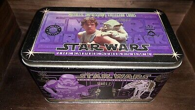 Star Wars Empire Strikes Back Series 2 Metallic Impressions Collector Cards.