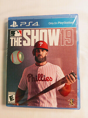 MLB The Show 19 - PS4 - Brand New!!