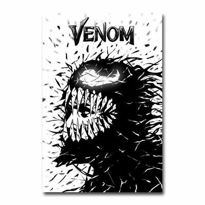 Venom Marvel Hot Movie Art Silk Poster Wall Art Home Decor Print 12x18 inch