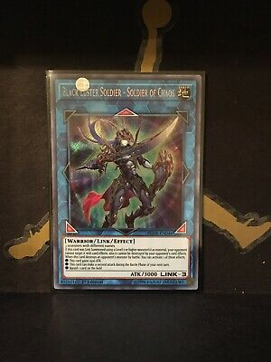 Yugioh Black Luster Soldier - Soldier of Chaos BLHR EN046 - 1st Edition
