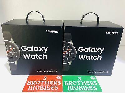 [Au Stock] Samsung Galaxy Watch 46Mm 4G Cellular (Silver) Sm-R805F Gst Tax Invoi