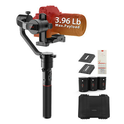 AU STOCK MOZA AirCross 3-Axis Gimbal Stabilizer for Mirrorless Camera up to 1.5k