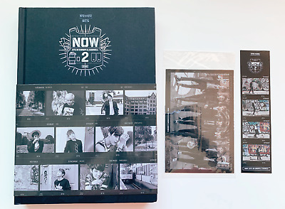 BTS NOW 2 Photobook + DVD Full Set with JUNGKOOK Photocard