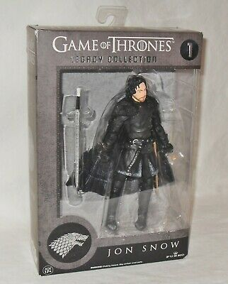 Game of Thrones Legacy Collection Jon Snow & Tyrion Lannister NIP  Numbers 1 & 2