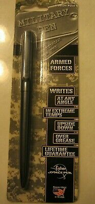 Vintage Fisher Space Pen, Military Edition SM4B Black Ink Med. Point - NEW!