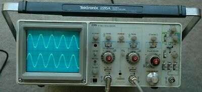 Tektronix 2215 60MHz Oscilloscope, Calibrated, Tested, Two Probes, Power Cord