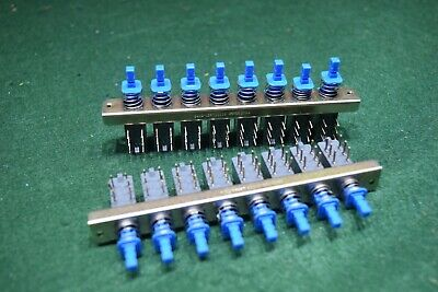 Blue Alps 8 Gang Switch Radio Parts NEW OLD STOCK