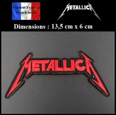Écusson Brodé Thermocollant NEUF ( Patch Embroidered ) - Metallica ( Ref 3 )