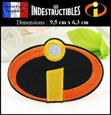 Écusson Brodé Thermocollant NEUF ( Patch Embroidered ) - Les Indestructibles