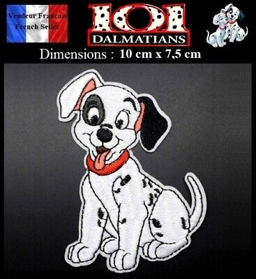 Écusson Brodé Thermocollant NEUF ( Patch Embroidered ) - Les 101 Dalmatiens
