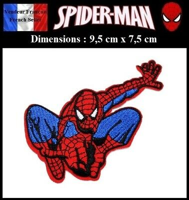 Écusson Brodé Thermocollant NEUF (Patch Embroidered) - Spiderman Marvel (Ref 3)